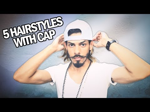 5 Hairstyles With Cap / How To Wear a Cap With Long Hair