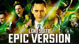 Loki Theme Suite   EPIC VERSION (End Credits Music / Soundtrack Episode 1)
