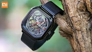 XIAOMI CIGA Design Automatic Mechanical Watch Unboxing and Review.