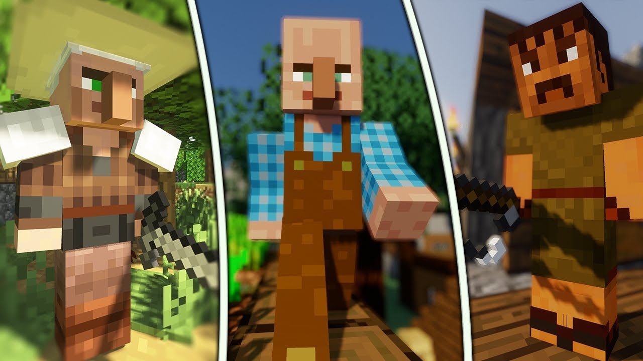 Download 10 Awesome Minecraft Village Enhancing Mods