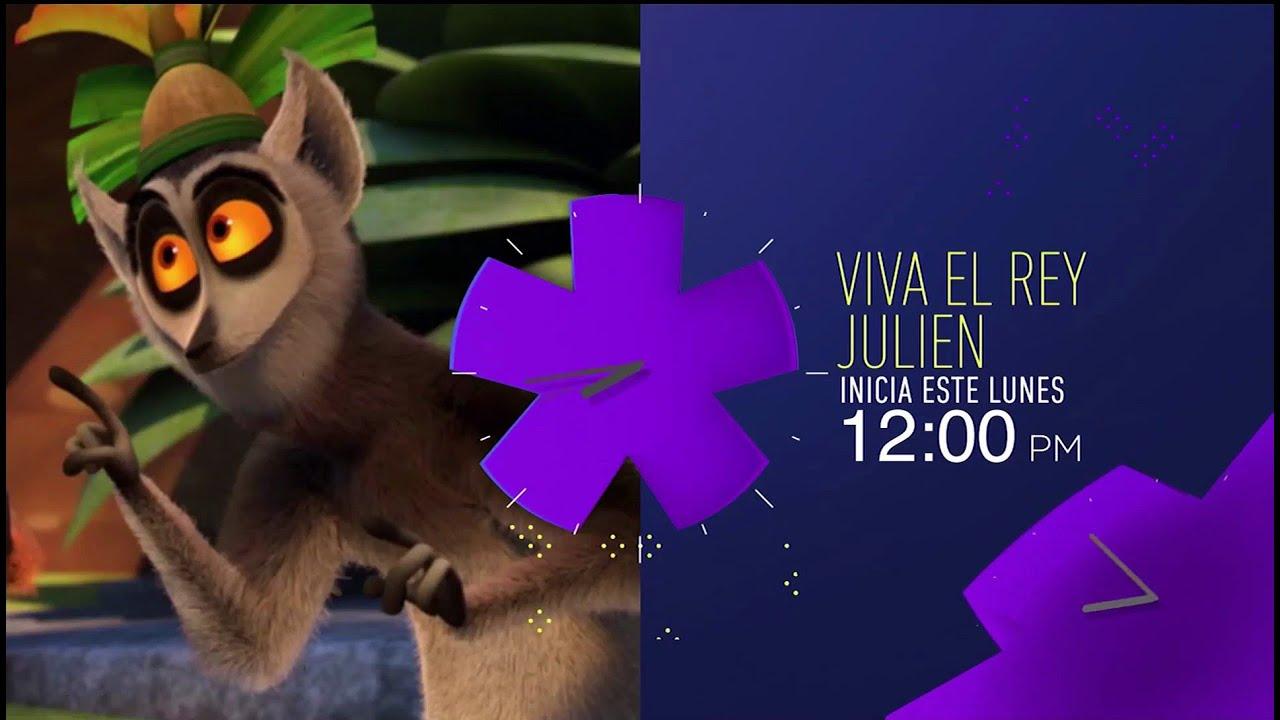 Viva el Rey Julien - Canal 5   2020