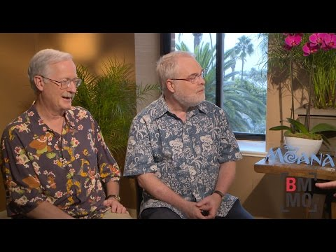 John Musker & Ron Clements Interview - Moana
