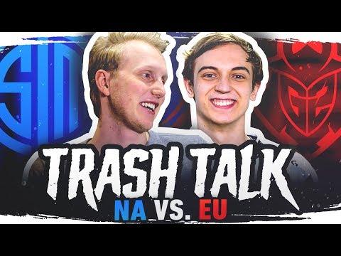 TRASH TALK   TSM vs. G2 (Rift Rivals)
