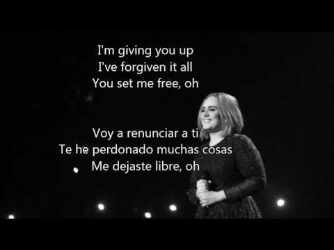 Adele - Send My Love (To Your New Lover) español-ingles(lyrics)traducción