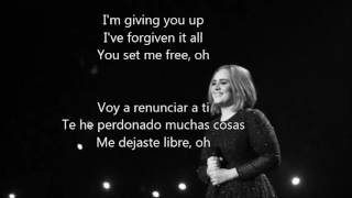 adele   send my love to your new lover español ingles lyrics traducción