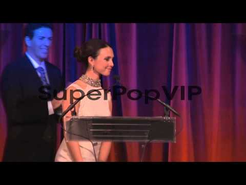 SPEECH - Georgina Bloomberg introduces her father at The ...