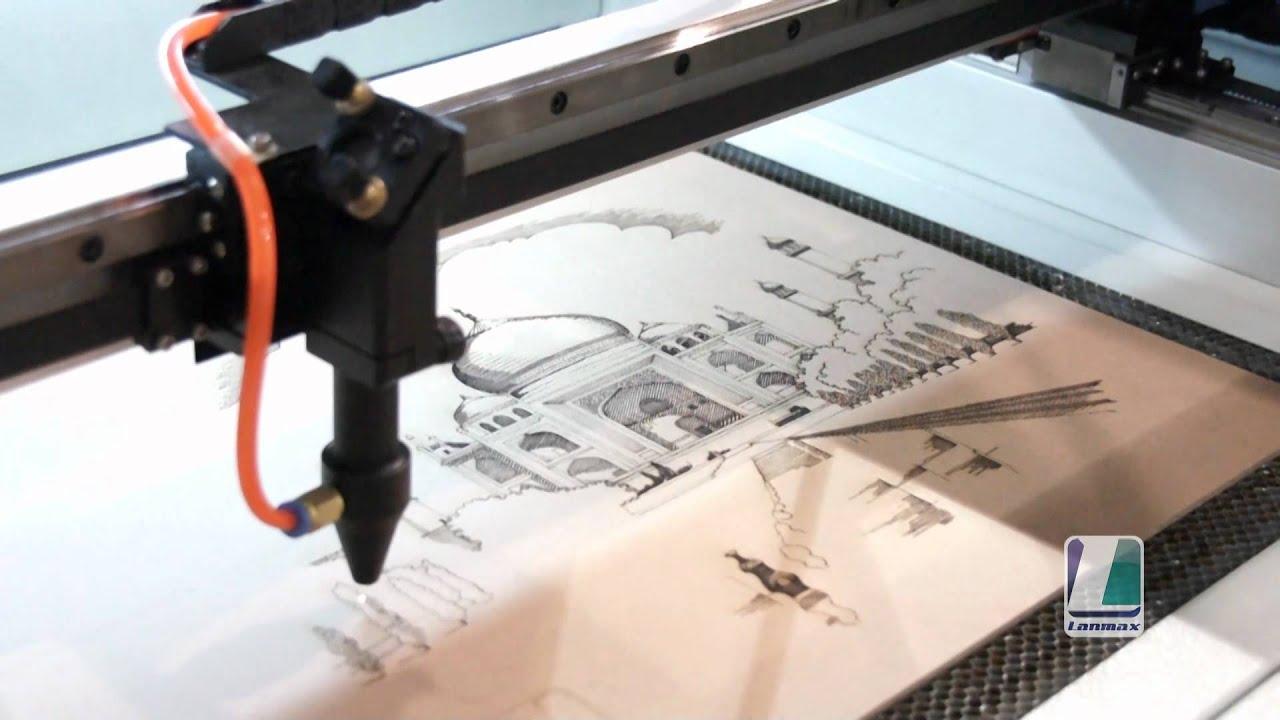 30a3b9d66 LM-10060 - Máquina de Gravação e Corte a Laser - YouTube