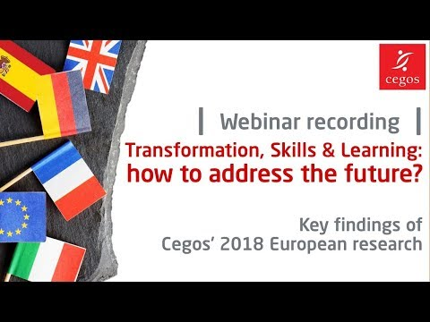 Key findings of our 2018 Training in Europe research: webinar recording