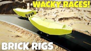 MULTIPLAYER WACKY RACE CHALLENGE! - Brick Rigs Multiplayer Gameplay Challenge