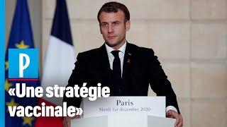 Coronavirus: Macron veut une vague de vaccination «grand public» au printemps