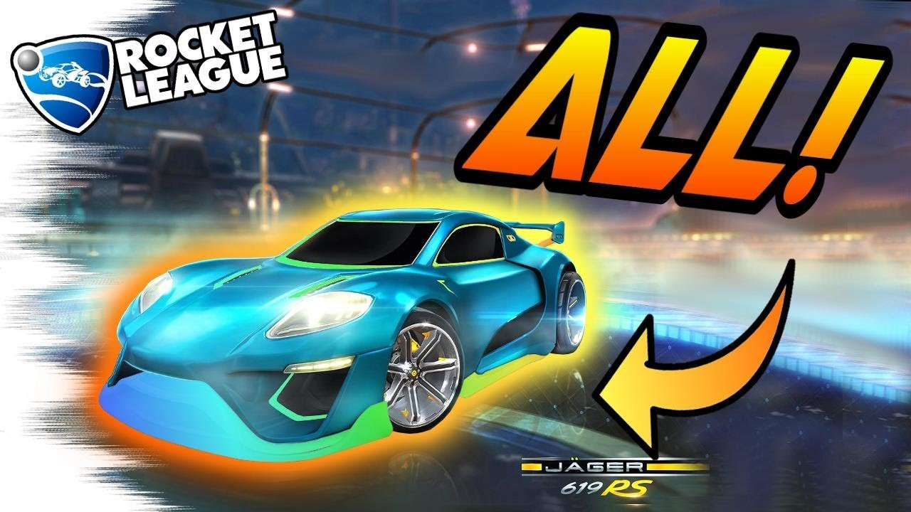 Rocket League Trading In Painted Default Cars