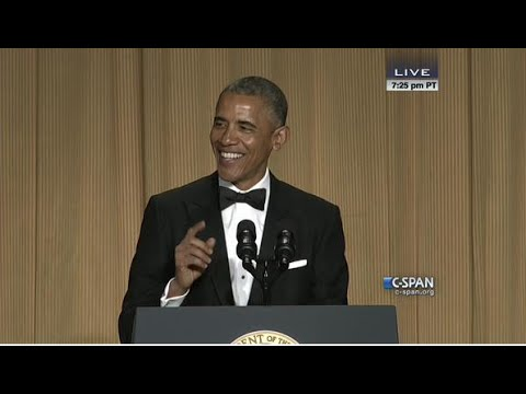 Thumbnail: President Obama complete remarks at 2015 White House Correspondents' Dinner (C-SPAN)