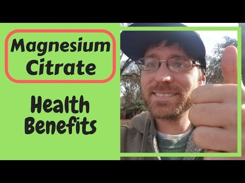 3 Magnesium Citrate Benefits For Health (2019)🧐