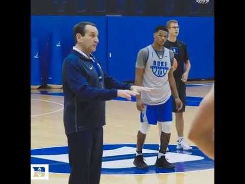 newest 7dc89 ab384 All In with Coach K: Almost Time for Practice (9/14/17)