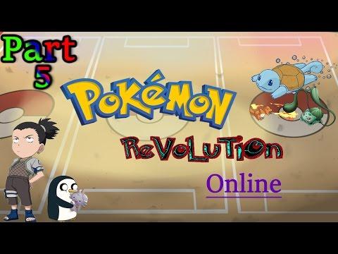 Group Play: Pokemon Revolution Online - part 5 {The Viridian Maze}