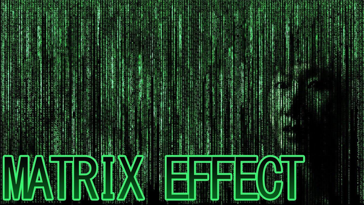 Photoshop cs6 matrix effect tutorial youtube baditri Images