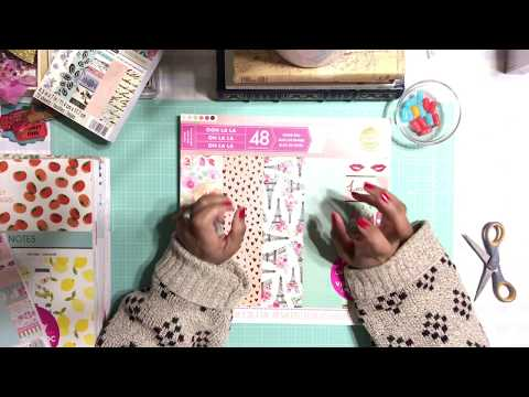 Michael's Craft Store New Hot Buy Paper Pad - Papercraft Haul Video