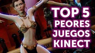 Top 5 - Peores juegos de Kinect