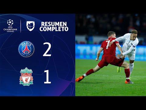PSG 2-1 Liverpool – GOLES Y RESUMEN – Grupo C- UEFA Champions League