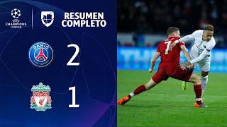 PSG 2-1 Liverpool - GOLES Y RESUMEN - Grupo C- UEFA Champions League