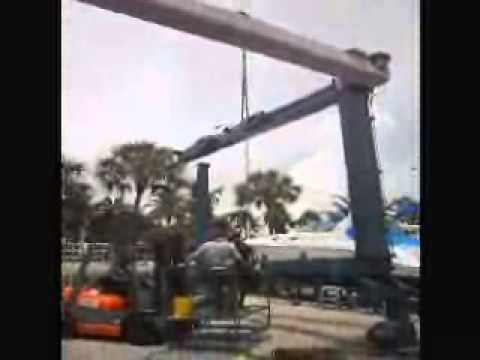 Complete Marine boat travel lift