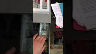 касса. Как правильно класть деньги в кассу