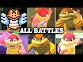 Evolution of Boom Boom & Pom Pom Battles in Mario games (1988 - 2017)