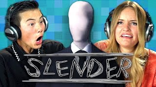 slender teens react gaming