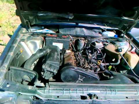 VW Passat B2 1.6D 1986 Engine Sound
