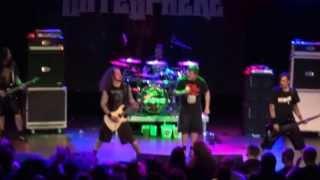 HateSphere - Clarity. Live From Skråen, Nordkraft Aalborg Denmark 4 May 2012