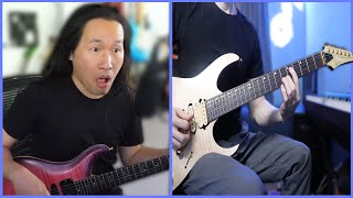 Playing Guitar with HERMAN LI of DRAGONFORCE?!