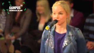 Julia Engelmanns Poetry Slam (for English subtitles, check description)