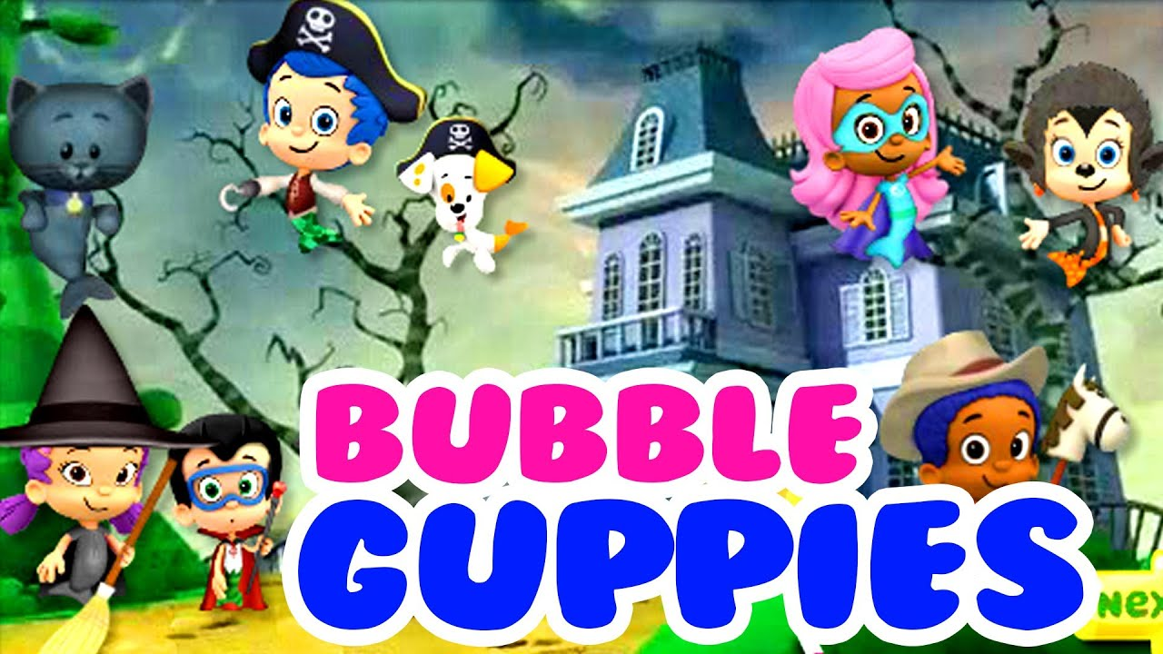 bubble guppies halloween costumes bubble guppies full gameplay cartoons for kids youtube - Halloween Youtube Kids