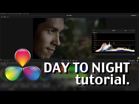 DaVinci Resolve Lite - Day to Night Tutorial