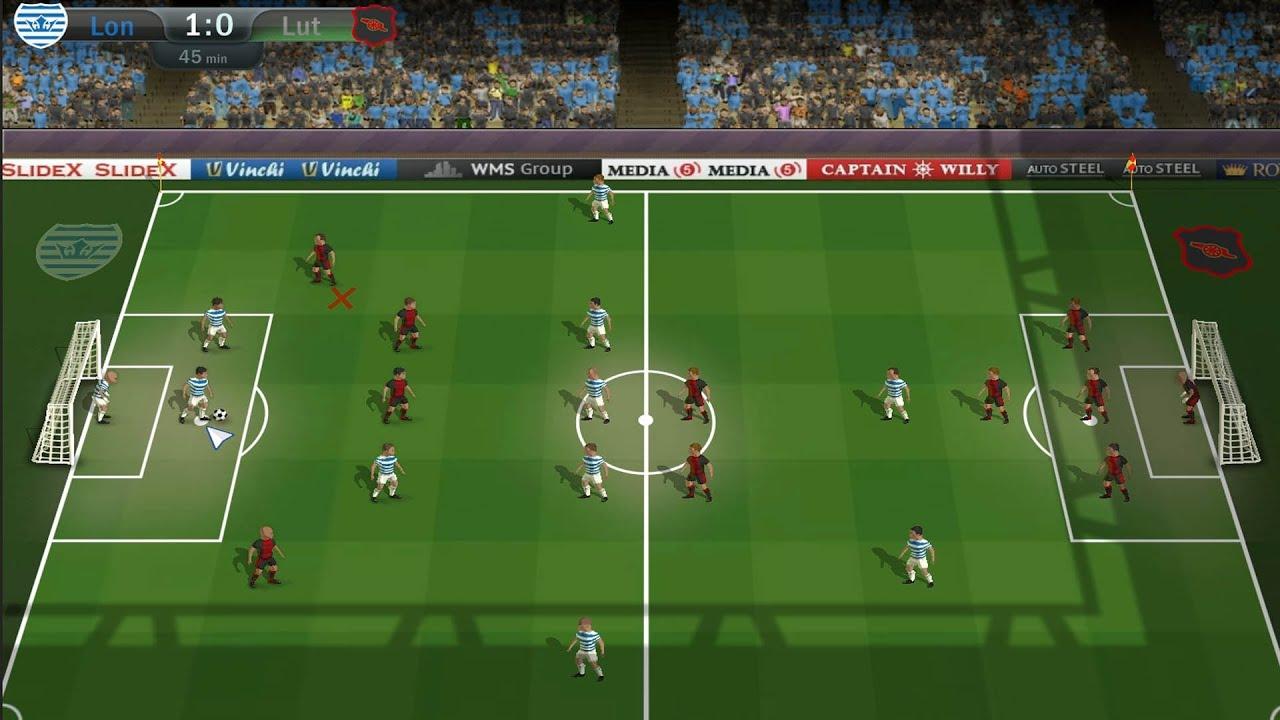 Football Tactics Gameplay Pc Hd 1080p Youtube