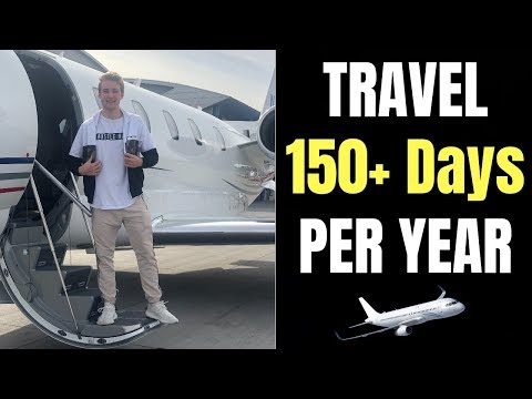 What It's Like To Travel For 150+ Days A Year At 18 Years Old