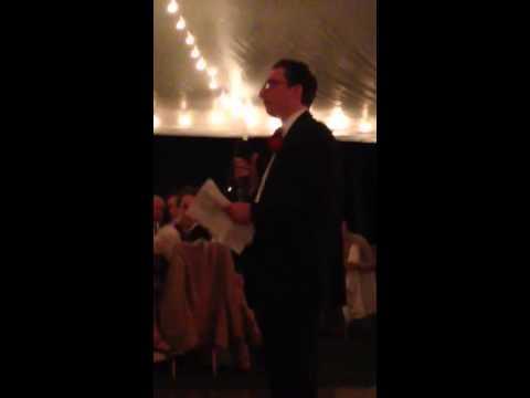 Brian Loughnane best man speech