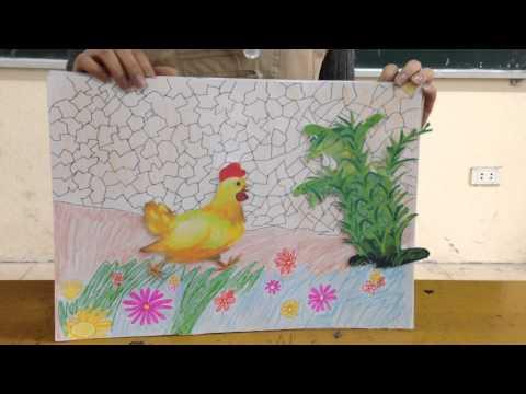 Kể chuyện hoa mào gà Chủ Đề động vật SV T Tú CDHD tại Tân Ấp 9 1 2015