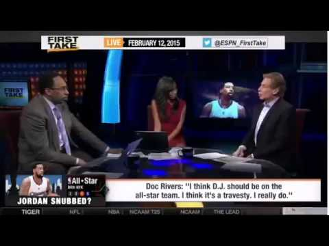Espn First Take Doc Rivers On Clippers Deandre Jor