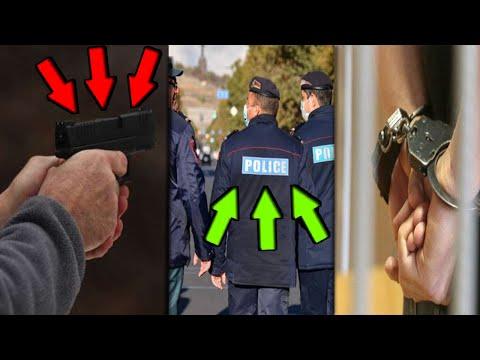 Շտապ Րոպեներ առաջ Կրակոցներ Երևանում Տեսեք թե ովքեր են եղել և ինչ է կատարվել...