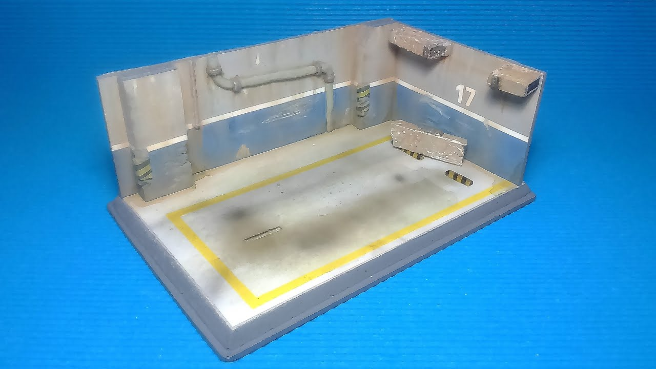 Diorama Parking Quot Dirty Version Quot 1 32 Scale To Expose