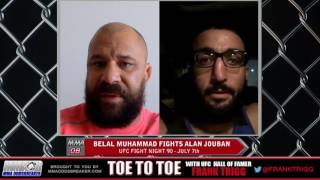 UFC Fight Night 90's Belal Muhammad: 'I know i can finish fights if I want to'