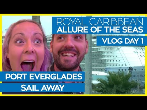 Allure of the Seas 2018 | Cruise Vlog Day 01