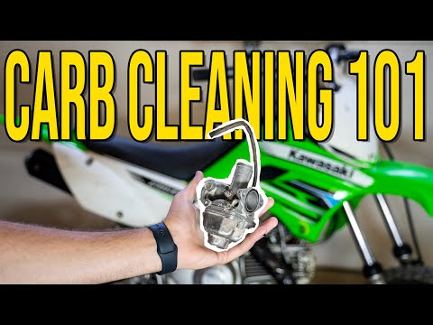 How to clean a dirt bikes carburetor! (Made SIMPLE)