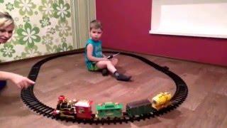автотрек / железная дорога 1TOY Retro Express T10147