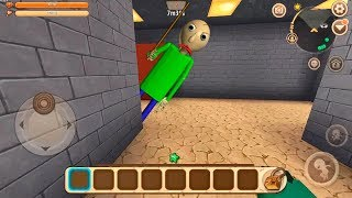 BALDI'S ME PERSIGUE EN MINI WORLD | BEBE VITA en MINIWORLD #4 en IPHONE IOS POCKET EDITION