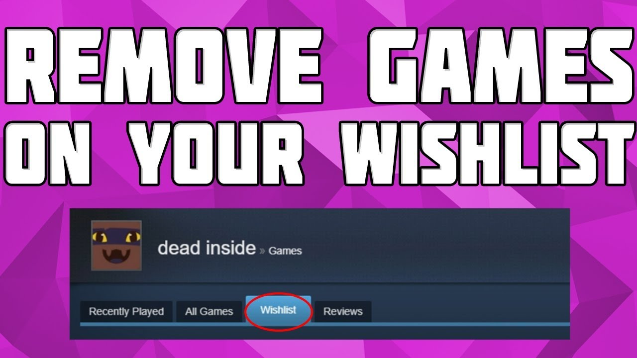 how to get to your wish list steam