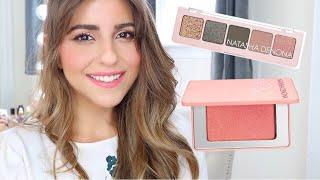 Natasha Denona Mini Retro Palette & Bloom Highlighting Blush review and tutorial