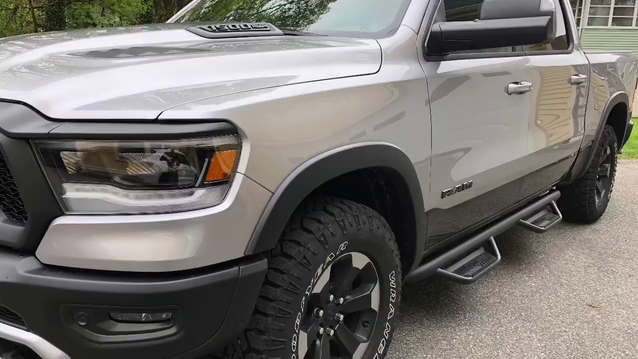 Nfab Running Boards >> 2019 Ram Rebel N Fab Nerf Bar Install And Review
