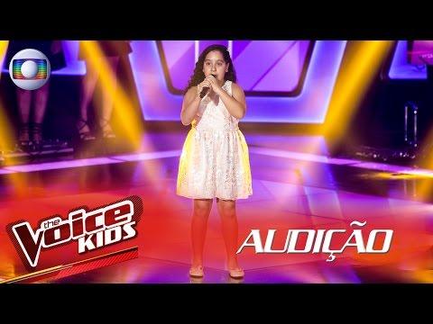 Amanda Nunes canta 'Vai dar sim' na Audição – The Voice Kids Brasil | 2ª Temporada